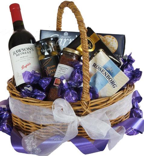 Baby Gift Basket Brisbane : Gift hampers baskets gourmet delivered australia