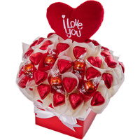 Love Heart - Chocolate Hamper