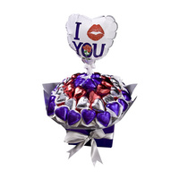 Sweet Love - Chocolate Hamper - FREE BALLOON