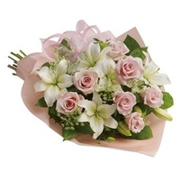Pinking Of You - Flower Bouquet