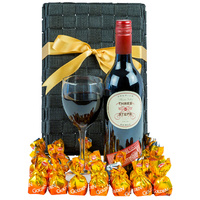 Red Addiction - Gourmet Wine Gift Hamper