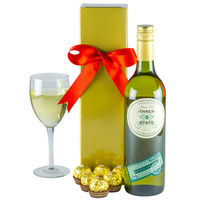 Wonderful White - Gourmet Wine Gift Hamper