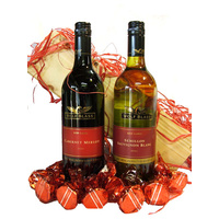The Red Wolf - Red & White Wine Gift Hamper