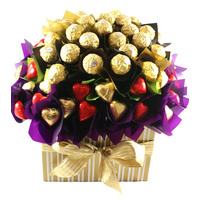 Flowers of Ferrero - Chocolate Hamper
