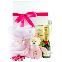 Snuggles & Bubbles Girl - Baby Hamper