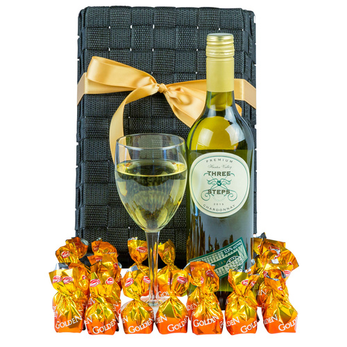 White Addiction - Gourmet Wine Gift Hamper