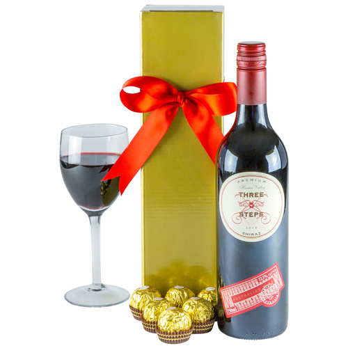 Ruby Red - Red Wine Gift Hamper